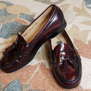 Cole Haan cordovan loafers 9.5 EEE Wide slip ons